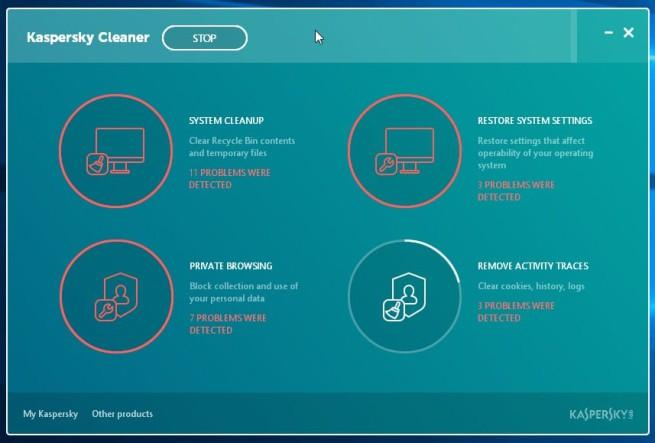 Kaspersky Cleaner disponigle gratis para windows