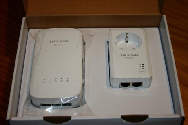 Apertura del embalaje de los PLC TP-LINK TL-WPA4530 KIT