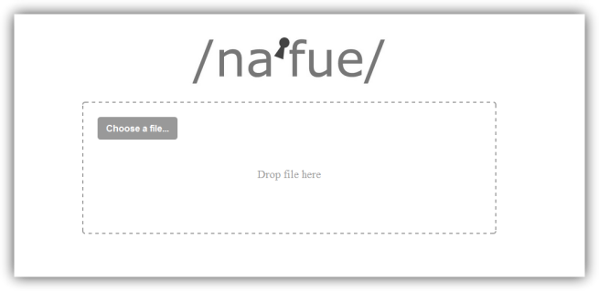 Nafue - Subir archivos de forma segura