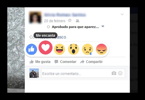 Nuevas expresiones Facebook