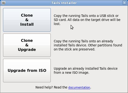 TAILS Installer