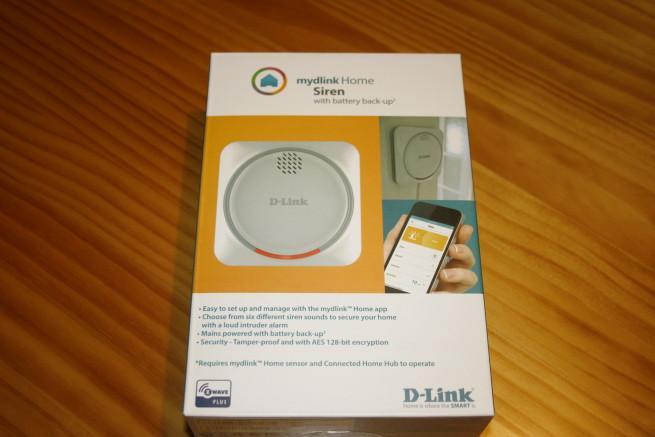 Frontal de la caja del D-Link DCH-Z510