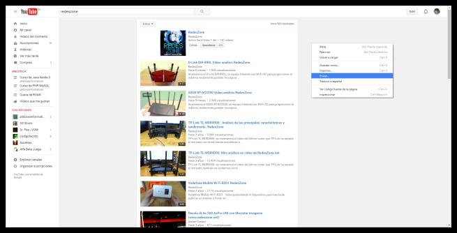 Nueva opción enviar a Google Chrome