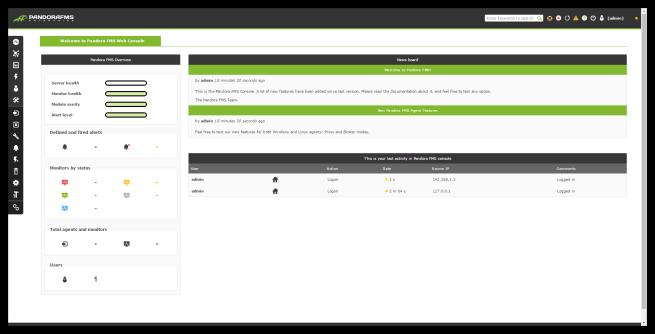 Pandora FMS - Resumen principal