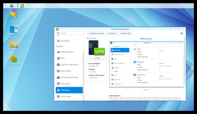 VPN Server Nas Synology