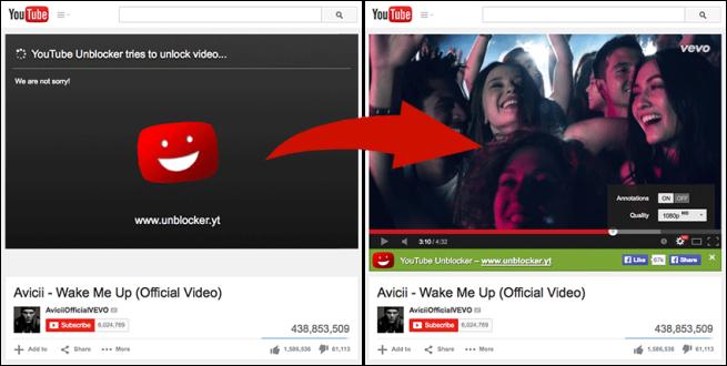 YouTube Unblocker para Firefox