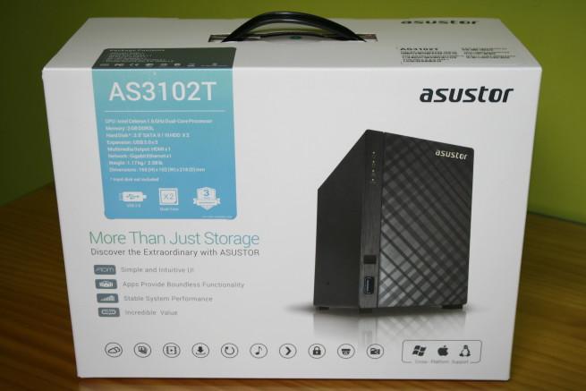 Caja del servidor NAS ASUSTOR AS3102T