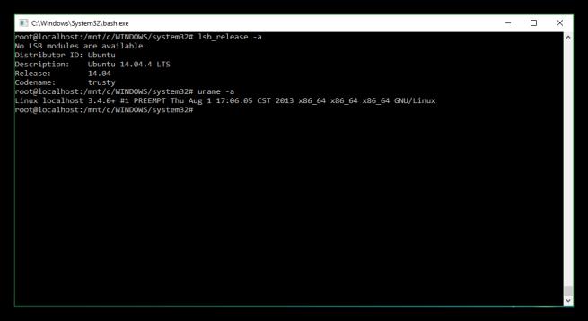 Empezando con el terminal de Ubuntu en Windows 10