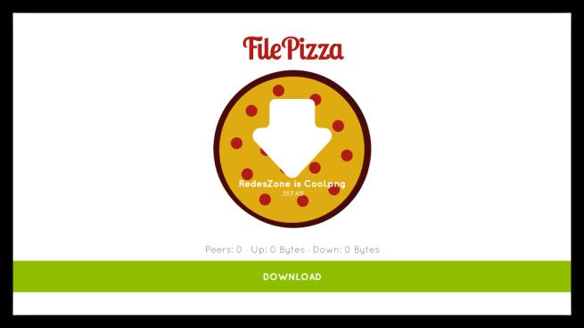 FilePizza - Descargar archivo