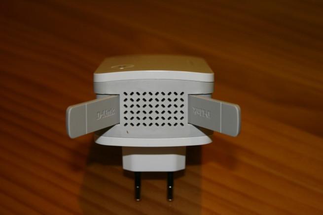 Antenas desplegadas del D-Link DAP-1620