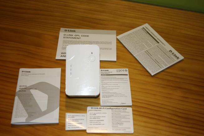 Contenido del repetidor Wi-Fi del D-Link DAP-1620