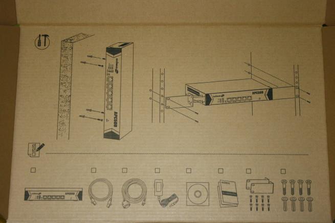 Esquema de instalación del controlador Edimax APC500
