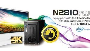 El nuevo Thecus N2810PLUS incorpora mejor CPU y más RAM que el N2810