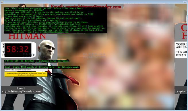 CryptoHitman ransomware JigSaw