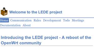 LEDE, el renacimiento del sistema OpenWRT