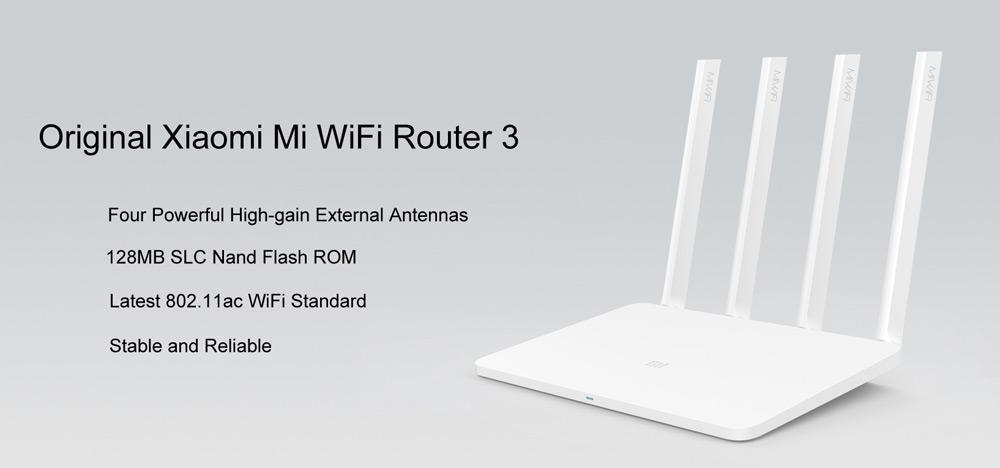 Xiaomi Mi Router WiFi 3: Conoce las características de