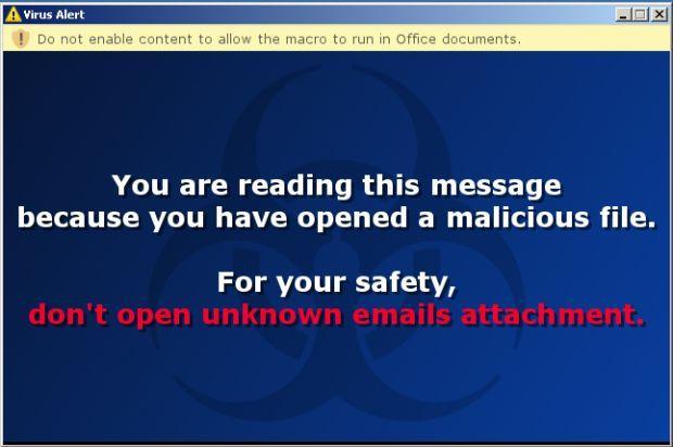 locky ransomware aviso de infeccion