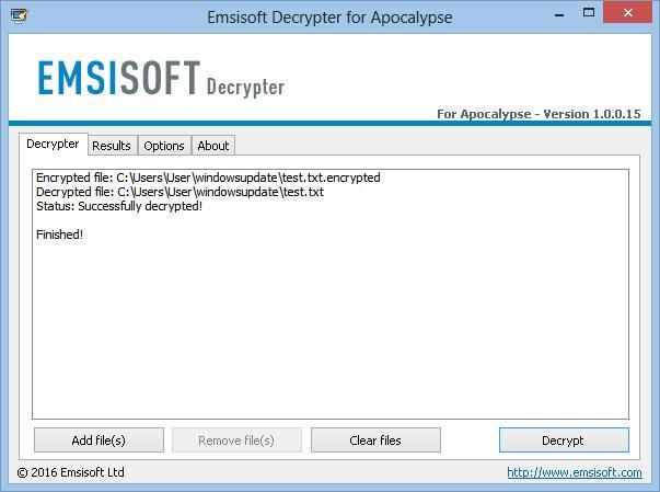 Decrypter-ApocalypseVM