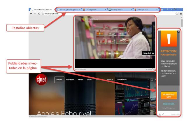 Publicidad DNS Unlocker