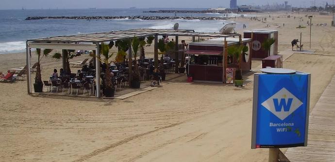 Wi-Fi playa