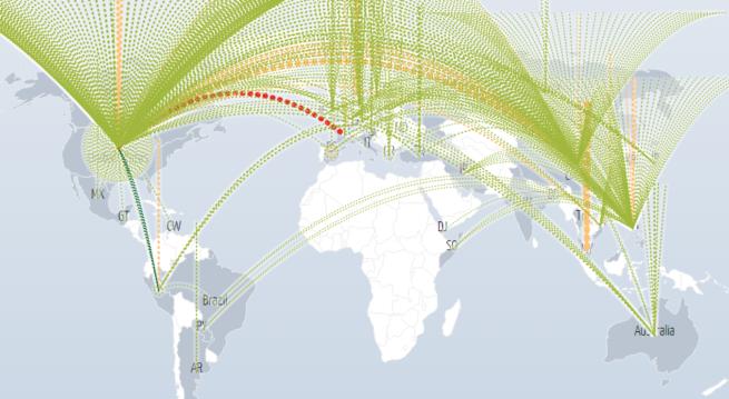 DDoS 579 Gbps