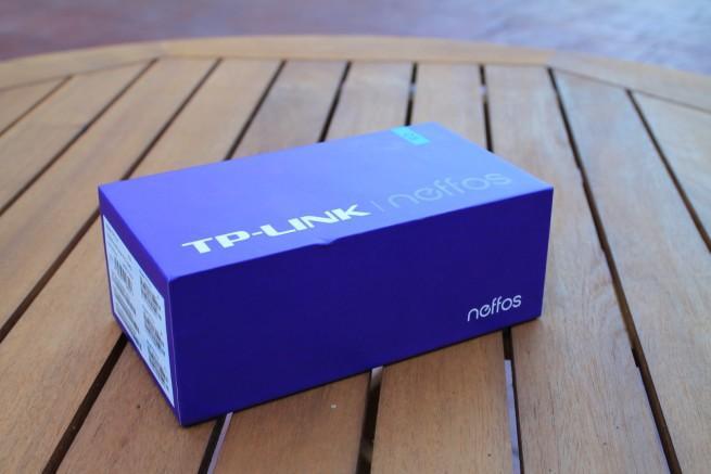 Caja TP-LINK Neffos C5 apariencia