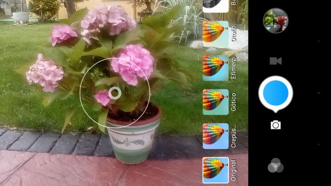 TP-LINK Neffos C5 menu cámara de fotos 4