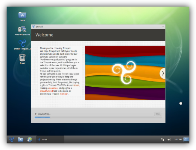 Trisquel Linux código abierto