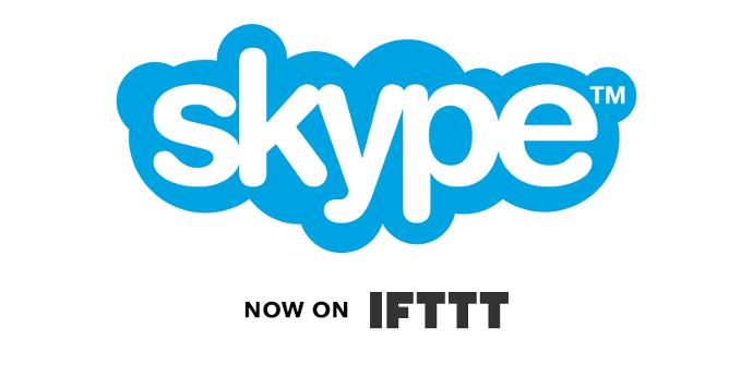 IFTTT Skype