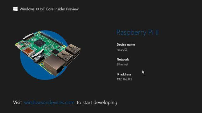 Windows 10 Anniversary Update Raspberry Pi