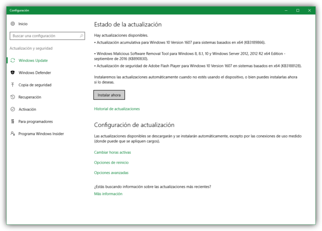 Boletines de seguridad de Microsoft para septiembre de 2016