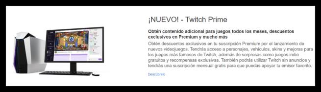 Amazon Premium - Twitch Prime