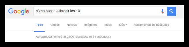Cómo hacer Jailbreak iOS 10