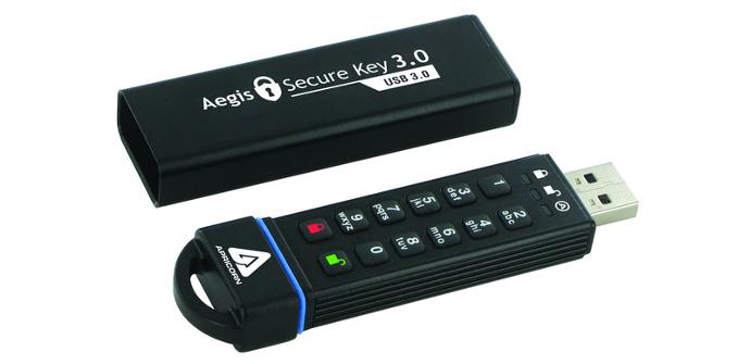 Memoria USB segura