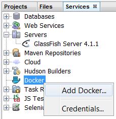 NetBeans 8.2 Docker