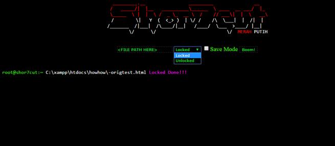 Ransomware PHP en servidor web