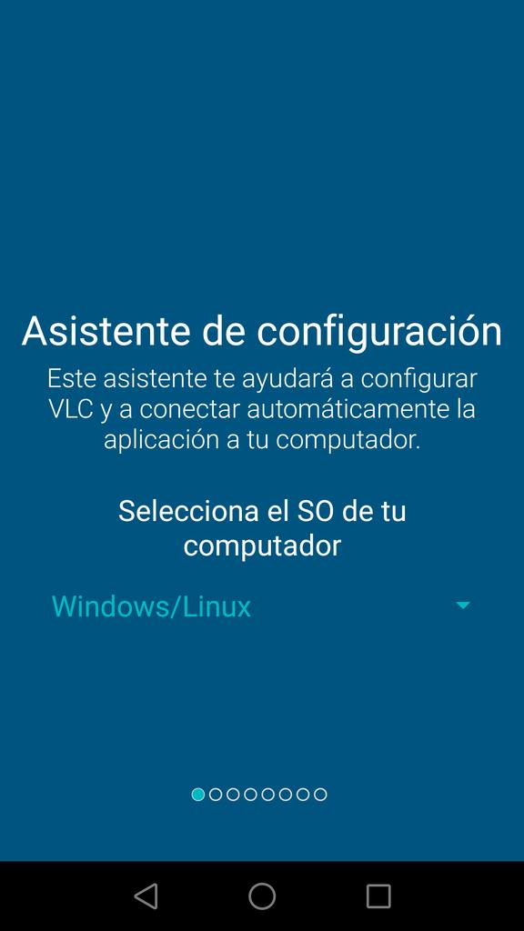 VLC Mobile Remote - Asistente Conexión