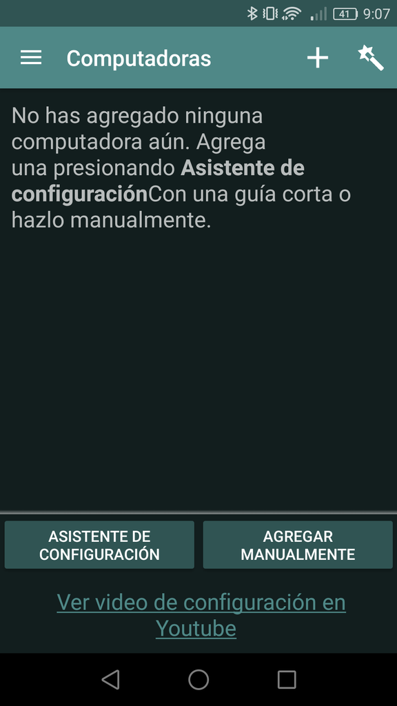 VLC Mobile Remote - Conectar