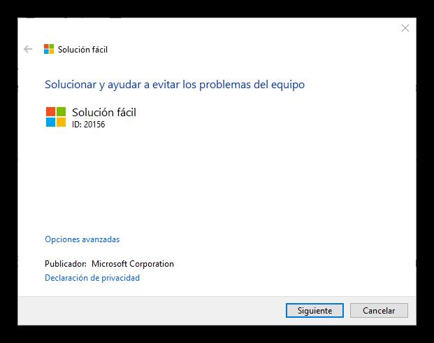Desactivar Pop-up Office 365