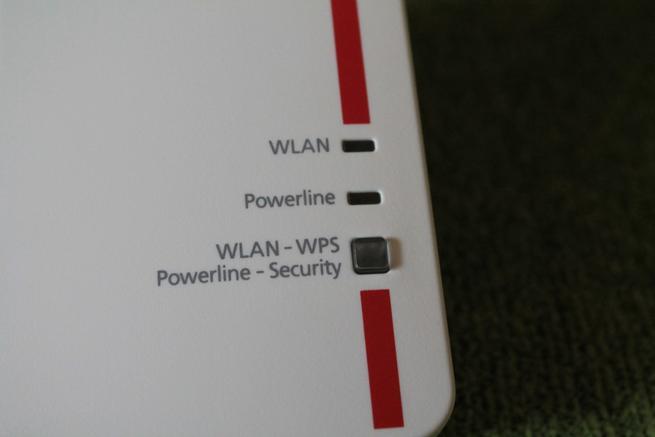 Indicadores LED del PLC supletorio FRITZ!Powerline 1240E
