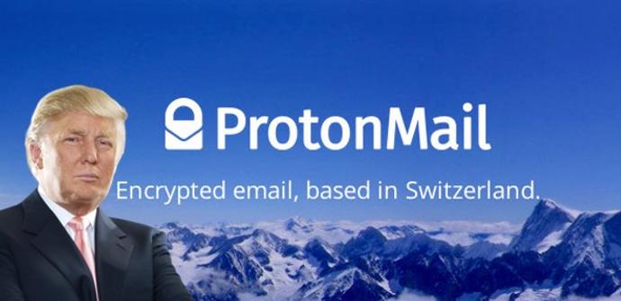 ProtonMail y Trump