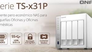 Conoce la nueva serie de NAS QNAP TS-x31P para hogares, tienen una gran relación calidad-precio