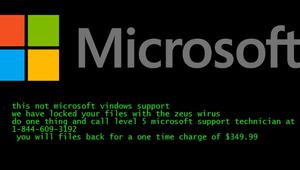 El falso soporte técnico de Microsoft ahora también cifra tus archivos