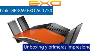 Unboxing y primeras impresiones en video del D-Link DIR-869 EXO AC1750