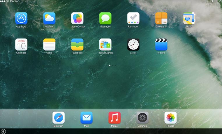 iPadian, un simulador de iOS 10 para Windows