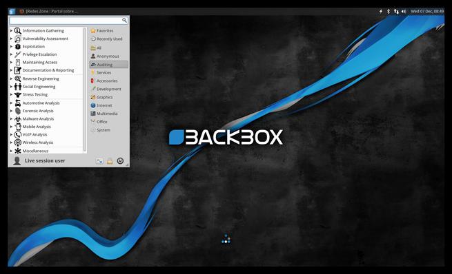 BackBox Linux 4.7