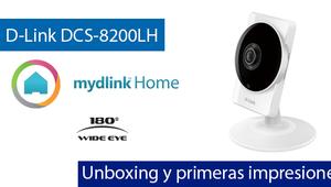 D-Link DCS-8200LH: Unboxing y primeras impresiones de esta cámara IP gran angular