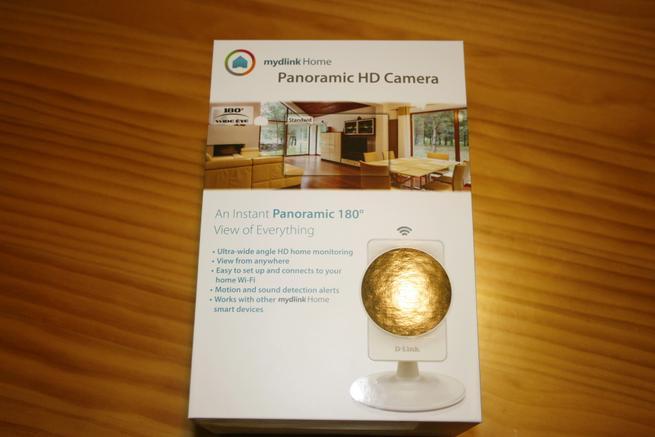 Frontal de la caja de la cámara IP D-Link DCS-8200LH