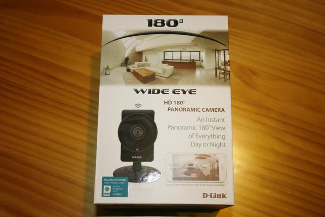 Frontal de la caja de la cámara IP D-Link DCS-960L