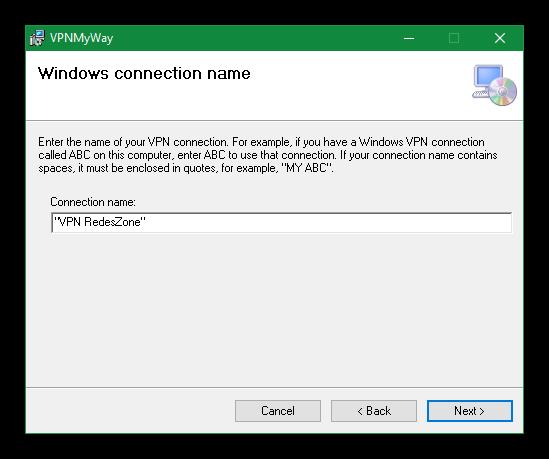 Instalación VPNMyWay